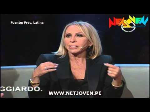 La pelea de Cristian Suárez y Laura Bozzo en TV