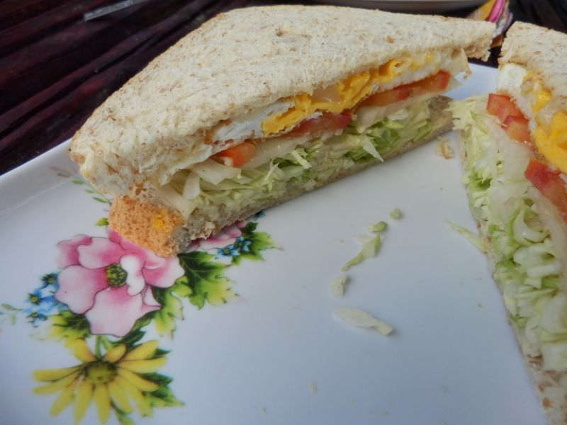 und nen Ei Sandwich für Tanja