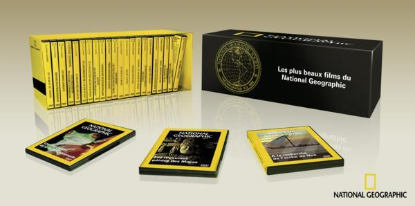 Coffret Collector National Geographic – Les 25 plus beaux films