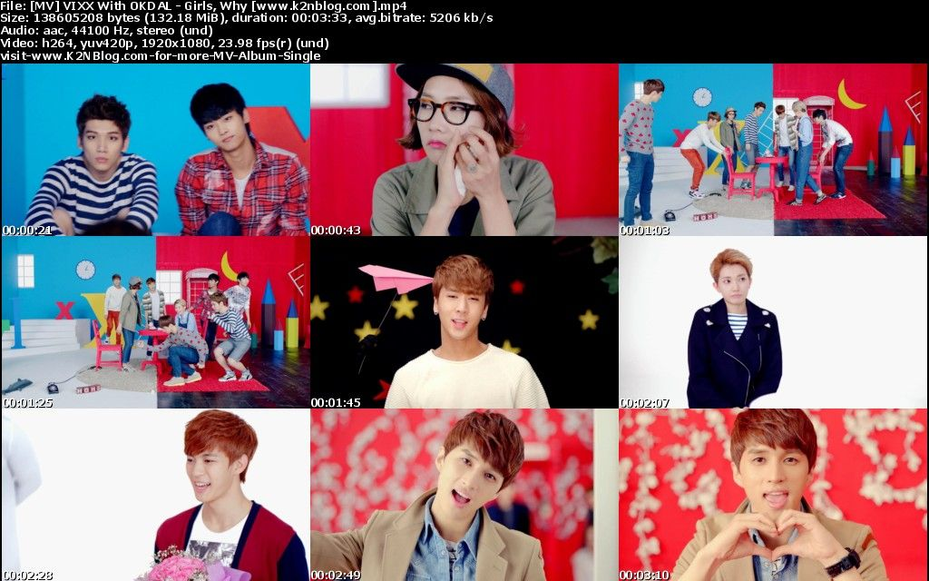 (MV) VIXX With OKDAL - Girls, Why (HD 1080p Youtube)