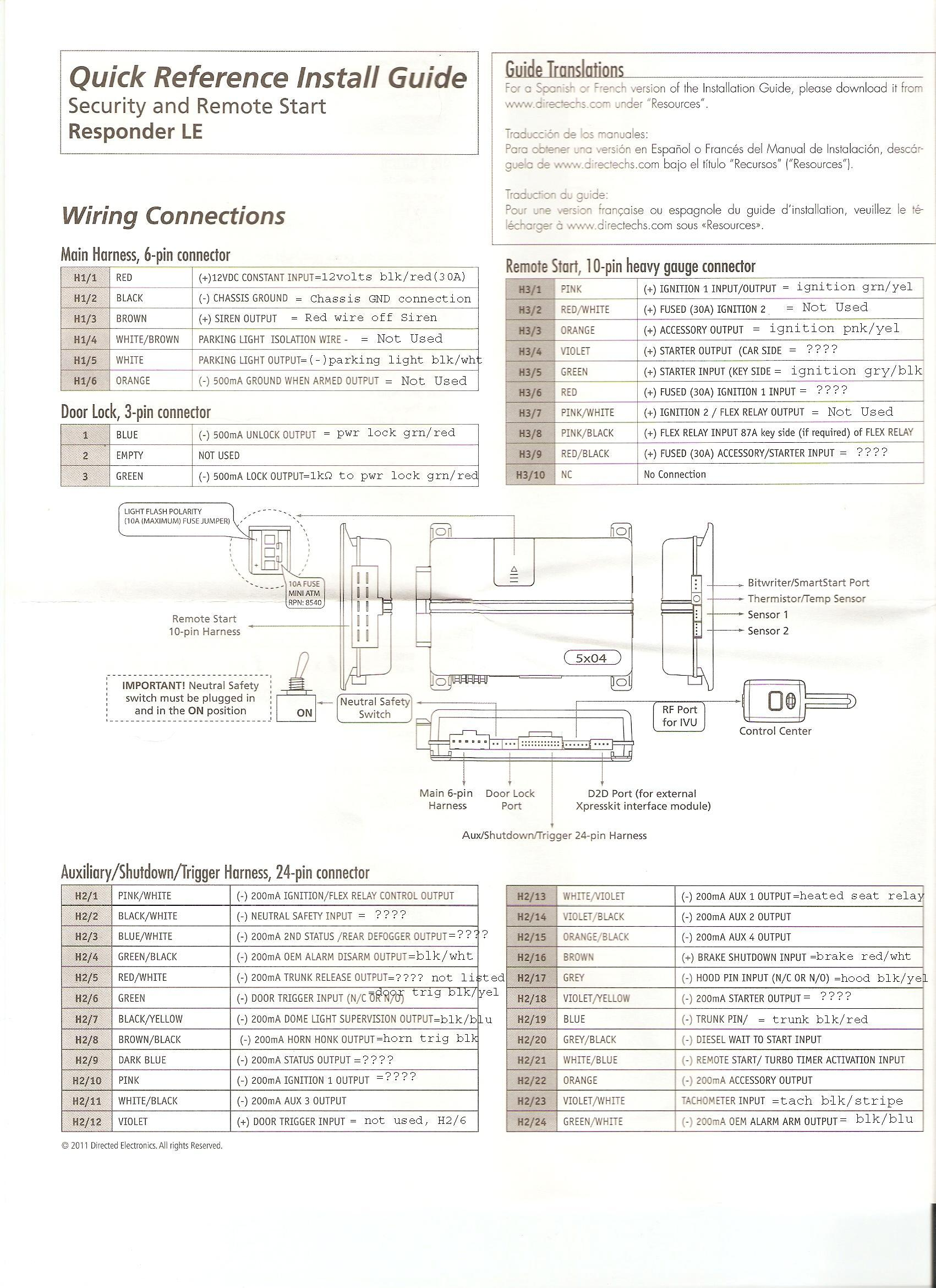 Python Alarm Wiring Diagram Image 991 Information Needed For Remote Start Install My Markup Of The Schematic Based On