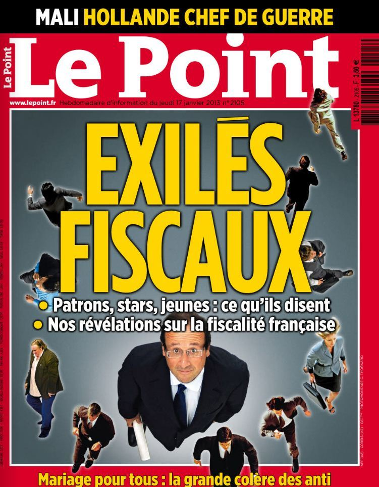 Le Point N°2105 du 17 au 23 Janvier 2013