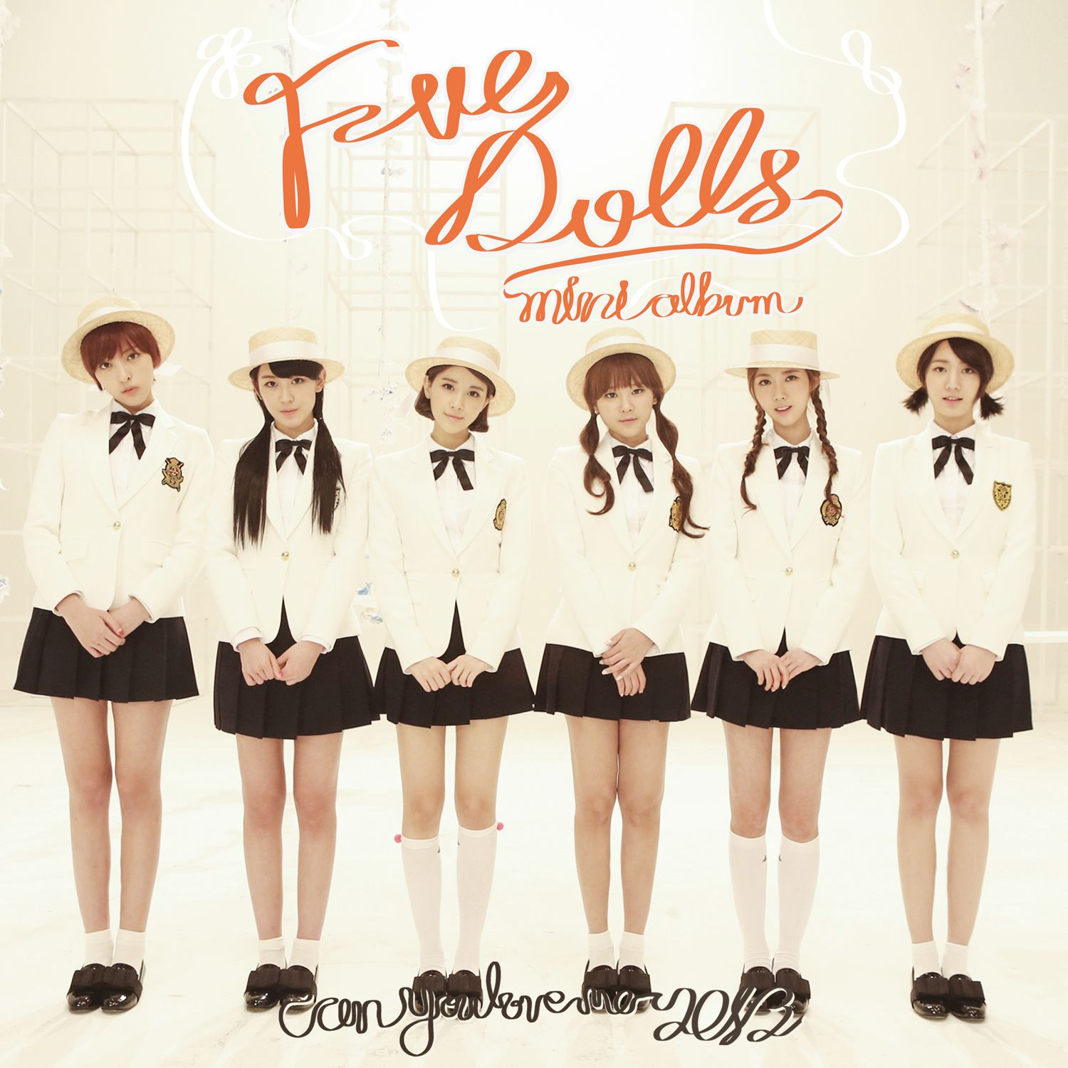 (Mini Album) F-VE DOLLS - First Love