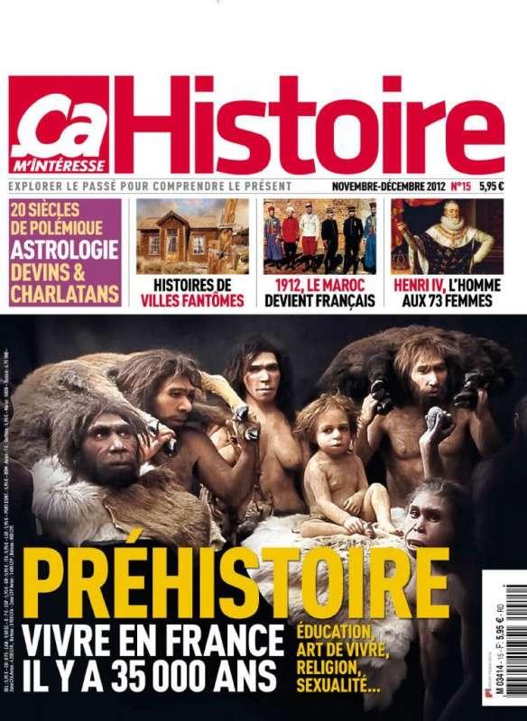 Ca m'intéresse Histoire N°15 Novembre Décembre 2012