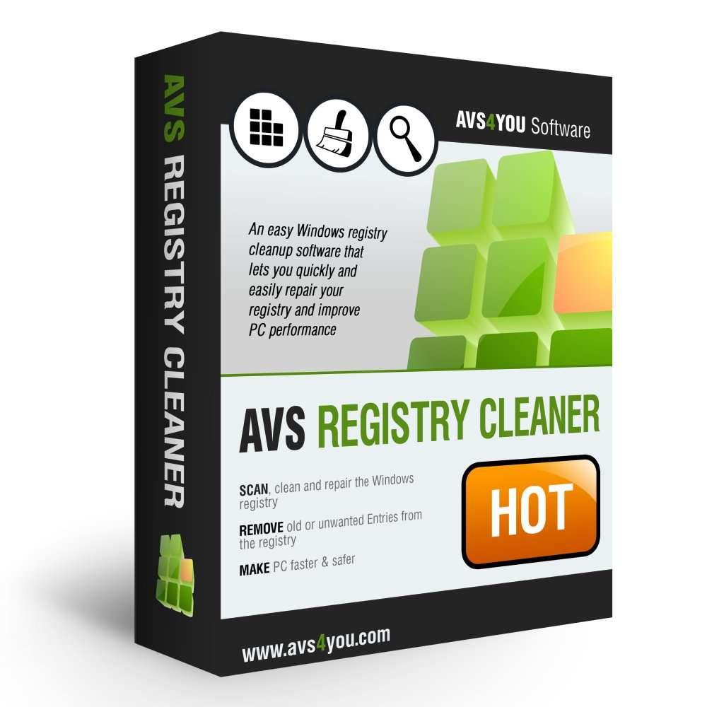 AVS Registry Cleaner v2.3.2.257