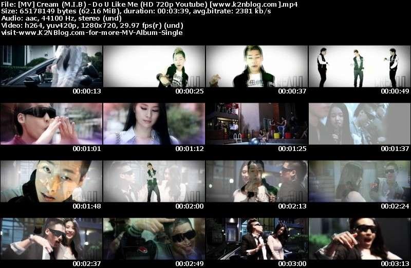 Cream (M.I.B) - Do U Like Me MV Thumbnail