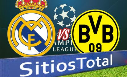 Real Madrid vs Borussia Dortmund en Vivo